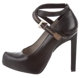 Jason Wu Leather Pointed-Toe Pumps