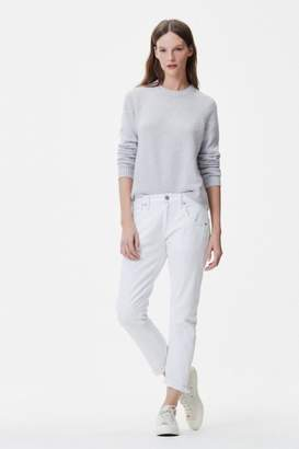 Citizens of Humanity White Boyfriend Jeans