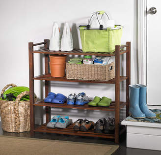 Asstd National Brand Northbeam 4-Tier Indoor/Outdoor Shoe Rack