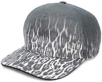 Just Cavalli leopard print gradient cap