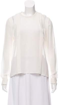 By Malene Birger Silk Long Sleeve Top w/ Tags