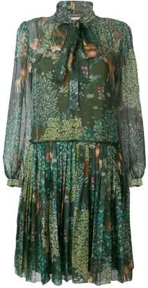 Alberta Ferretti pussybow dress