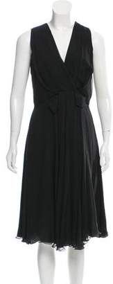 Christian Dior Silk Sleeveless Dress