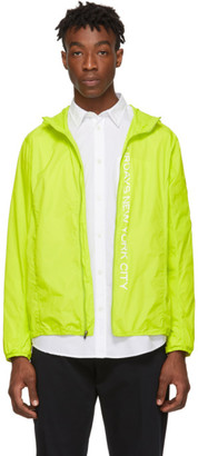 Saturdays NYC Green Packable Tatsu Windbreaker Jacket
