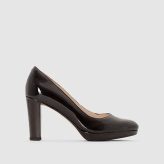 Clarks Kendra Sienna Patent Leather Heels