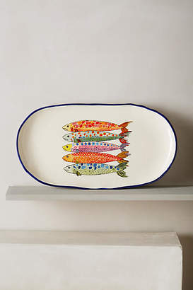 Anthropologie Sardina Small Platter
