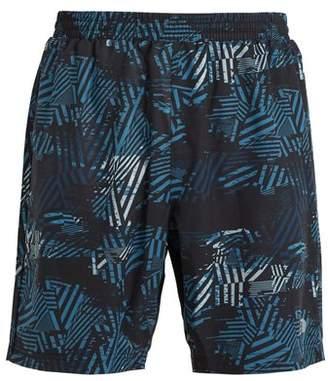 Newline - Imotion Geometric Print Performance Shorts - Mens - Blue Multi