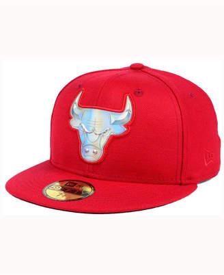 New Era Chicago Bulls Iridescent 59FIFTY Cap