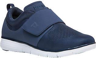 Propet Knit Sneakers - TravelFit Strap $65 thestylecure.com