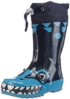 Playshoes Boys Wellies, Wellington Boots Dino, Boys Wellington Boots,(24/25 EU)