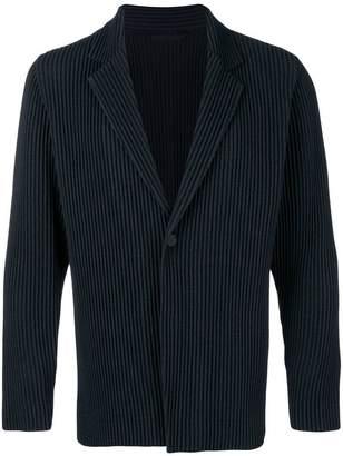Issey Miyake Homme Plissé micro pleated jacket