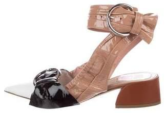 Christian Dior 2016 Conquest Patent Leather Pumps