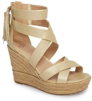 UGG Raquel Platform Wedge Sandal