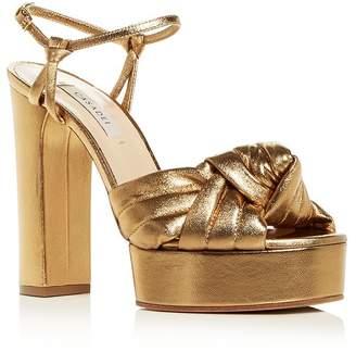 e273e947f22 Casadei Platform Heel Women s Sandals - ShopStyle