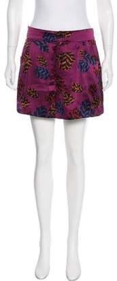 Marc by Marc Jacobs Abstract Print Mini Shorts