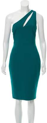 LIKELY One-Shoulder Midi Dress w/ Tags