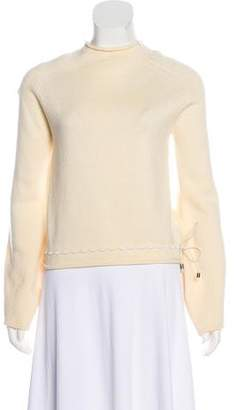 Gianfranco Ferre Embroidered Wool Sweater