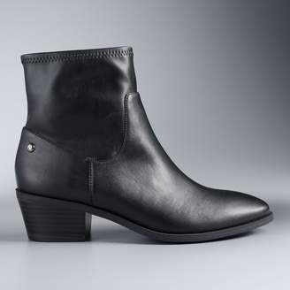 Vera Wang Simply Vera Diver Women's Ankle Boots