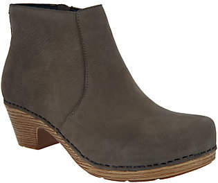 Dansko Nubuck Leather Ankle Boots - Maria