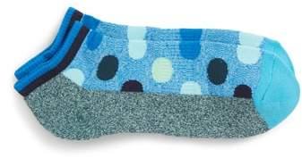 Big Dot Low Cut Socks