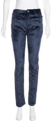 A.F.Vandevorst A.F. Vandevorst High-Rise Velvet Jeans