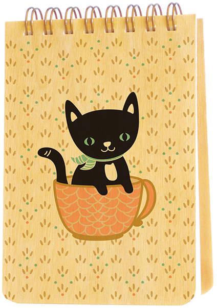 Cuppa Kitty Mini Notepad