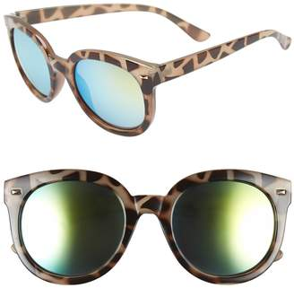 BP 52mm Oversize Mirrored Sunglasses