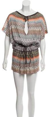 Missoni Patterned Knit Cover-Up