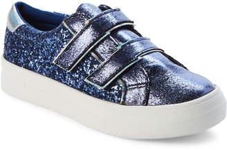 Nina Kids Girls) Cobalt Ashly Glitter Low-Top Sneakers