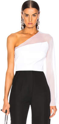 Cushnie et Ochs One Shoulder Bell Top