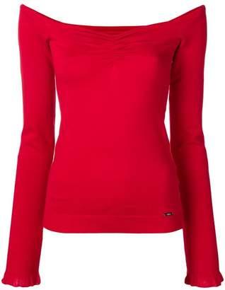 Liu Jo sweetheart neck sweater
