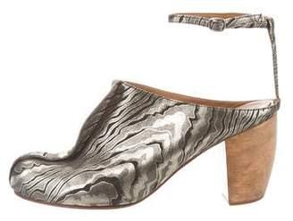 Rachel Comey Leather Round-Toe Sandals