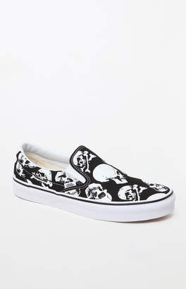 Vans Skulls Classic Slip-On Shoes