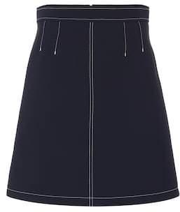 RED Valentino High-rise miniskirt