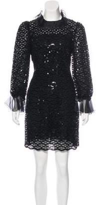 Dolce & Gabbana Embellished Mini Dress w/ Tags