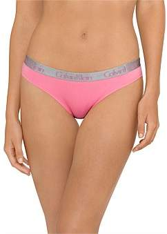 Calvin Klein Radiant Cotton Thong 3 Pack