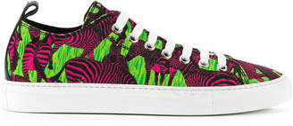 DSQUARED2 zebra low-top sneakers