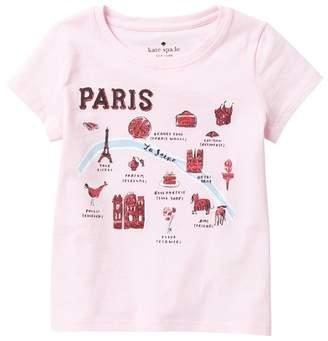 Kate Spade parisian tee (Toddler & Little Girls)