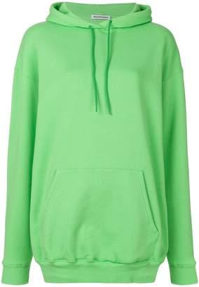 Balenciaga Logo Hoodie Sweater