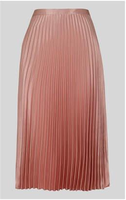6fcc4f887 Satin Pleated Skirt - ShopStyle UK