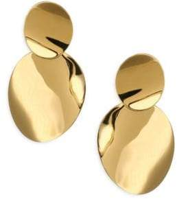 Kate Spade Gold Standard Double Drop Earrings