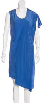 Tess Giberson Silk Asymmetrical Dress