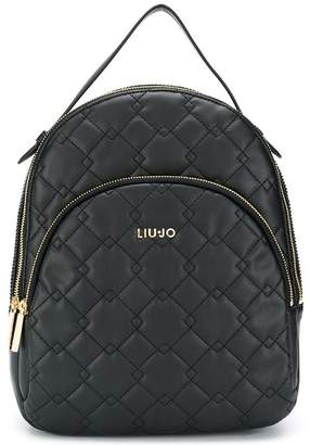 Liu Jo quilted backpack