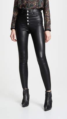 Alice + Olivia Mikah Leather Pants