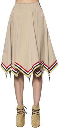 J.W.Anderson Umbrella Cotton Chino Twill Skirt
