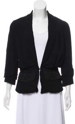 Rachel Comey Notch-Lapel Three-Quarter Sleeves Blazer