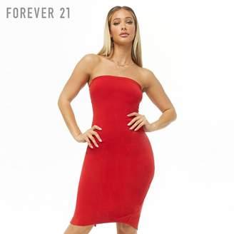 Forever 21 (フォーエバー 21) - Forever 21 タイトミディベアワンピース