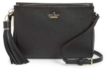 Kate Spade New York Kingston Drive - Gillian Leather Crossbody Bag - Black