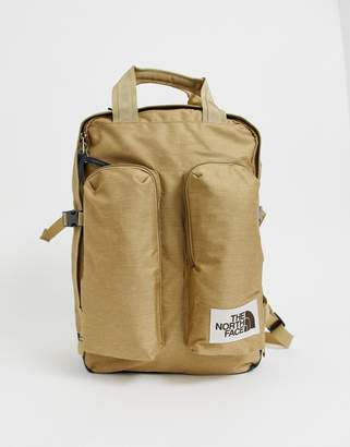 The North Face Mini Crevasse backpack in stone