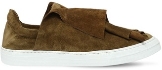 Ports 1961 20mm Layered Suede Slip-On Sneakers